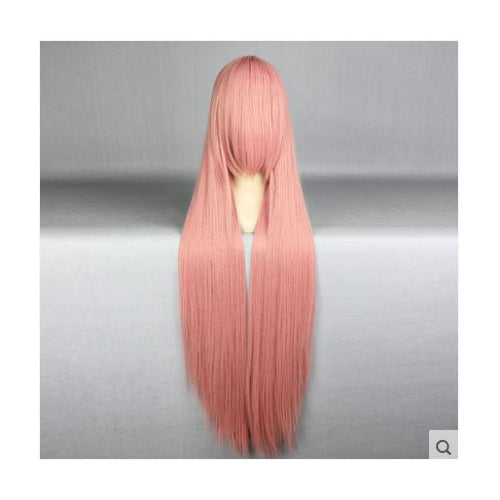 100 cm Long Muted Pink Cosplay Wig