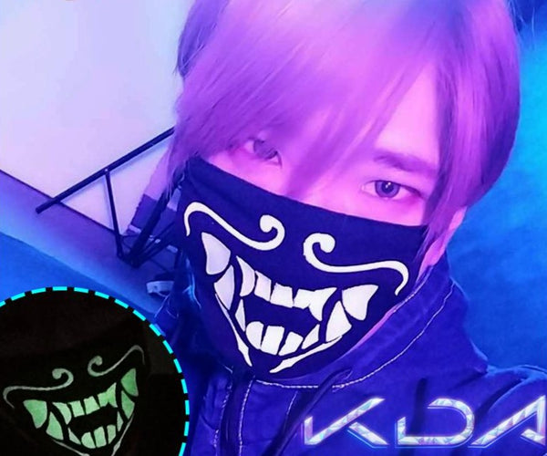 League of Legends KDA Akali Mask