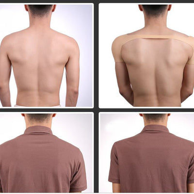 Imitation Skin Silicone Molded Male Padded Shoulder Straps