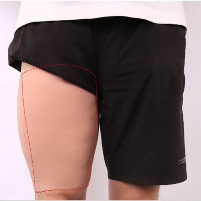 Imitation Skin Silicone Molded Thigh / Calve Sleeves