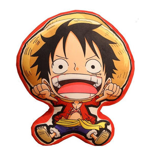 Onepiece Straw Hats Crew Plush Pillow