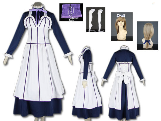 Black Butler/ Kuroshitsuji II: Alois Trancy Maid Dress Costume
