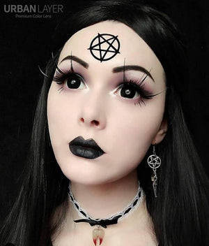 17mm Black Sclera Lenses