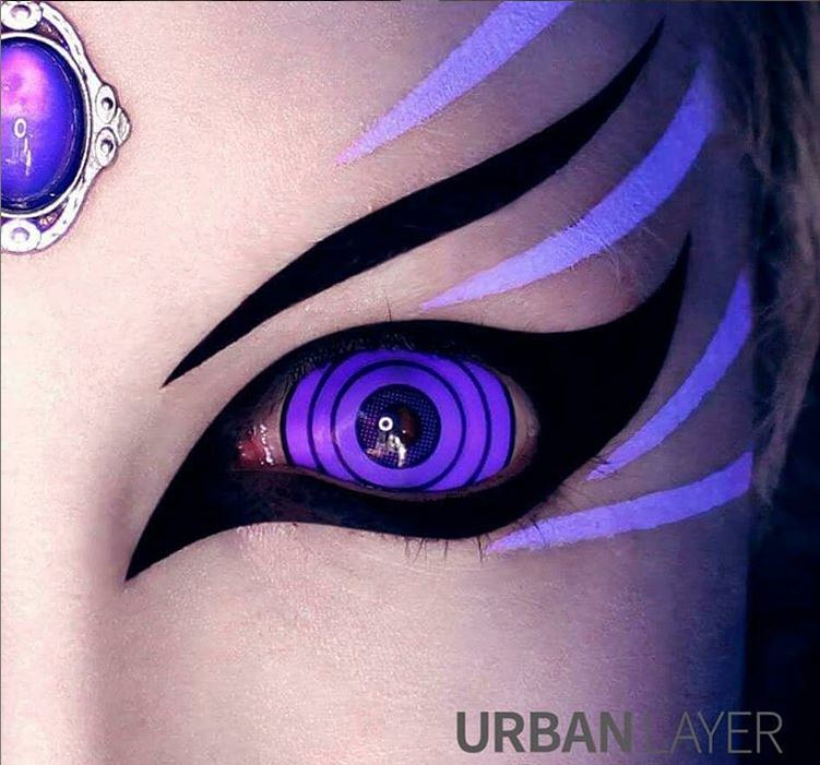 22mm Violet Colossus Rinnegan Sclera Lenses