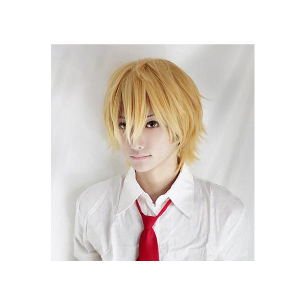 25cm Butterscotch Blond Cosplay Wig