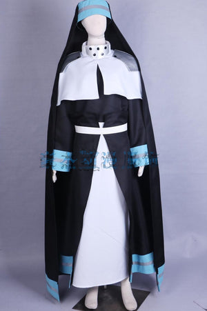 Fire Force Iris Cosplay Costume