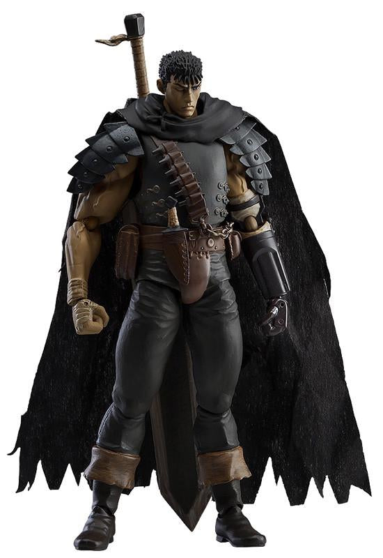 MAX FACTORY Berserk Guts Figma: Black Swordsman ver. Repaint Edition Collectible Figurine