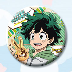 My Hero Academia Snacking Character Buttons / Anime Pins