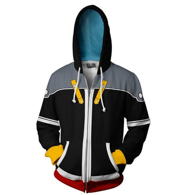 Kingdom Hearts Cosplay Hoodie (Multiple colors available)