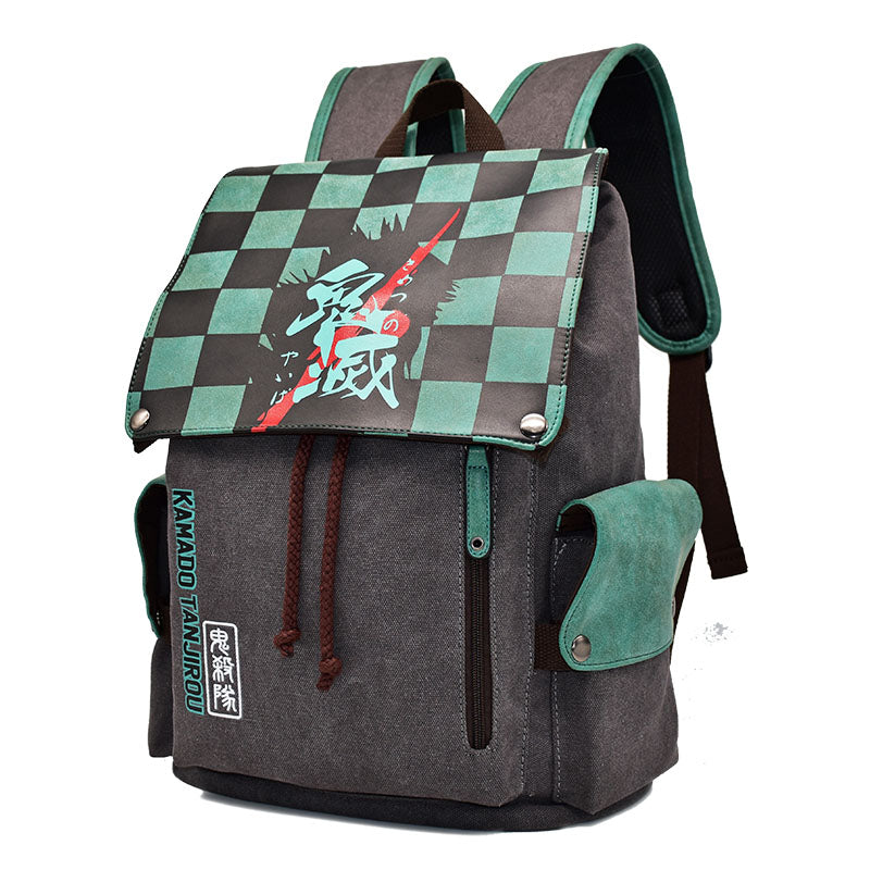 Demon Slayer Backpack Character Inspired School Bag  (4 Styles available)