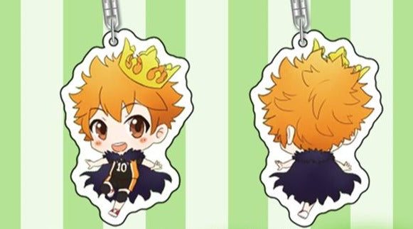 Haikyuu!! Kings of The Court Character Style Keychains