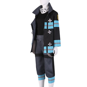 Fire Force Maki Oze Cosplay Costume
