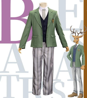 BEASTARS Louis Cosplay Costume Cherryton School Uniform