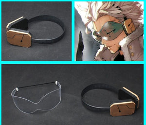 My Hero Academia Hawkes Cosplay Goggles and Headphones prop