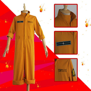 Fire Force Season 2 Company 8 cosplay costume