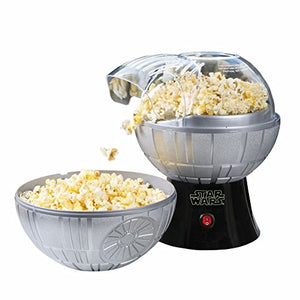 Star Wars Death Star Popcorn Maker - Hot Air Style with Removable Bowl: Kitchen & Dining