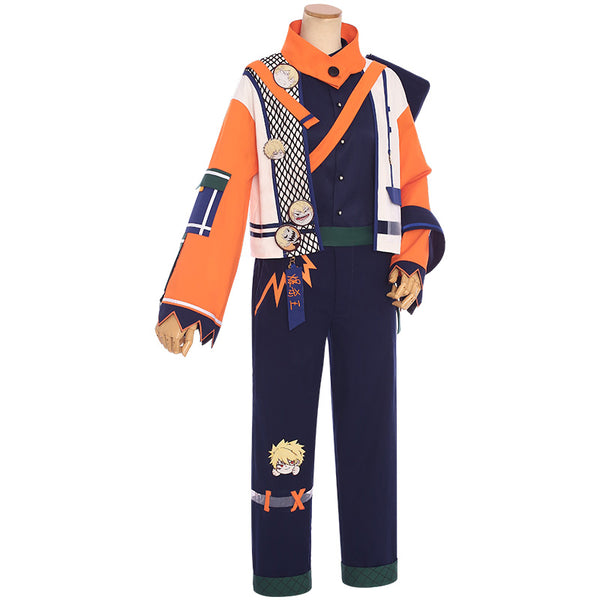 My Hero Academia Street Wear Bakugo Katsuki Cosplay Costume