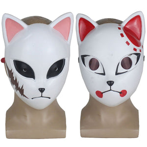 Demon Slayer Resin Masks (Sabito, Tanjiro, Makomo, Giyu)
