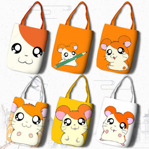 Hamtaro Reusable Shopping Bags