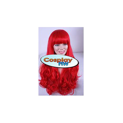 70cm Poison Ivy Long Red Cosplay Wig