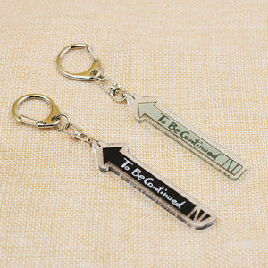 JOJO's Bizarre Adventure To Be Continued Keychain