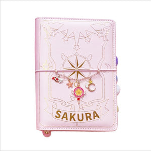 Card Captor Sakura Soft Cover Notebook (with wand pen)