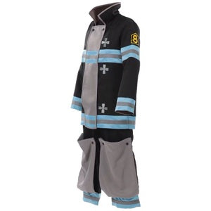 FIRE FORCE Special Fire Force Company 8 Cosplay Costume