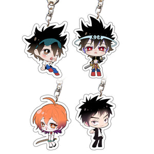 The God Of High School Acrylic Character Style Keychains