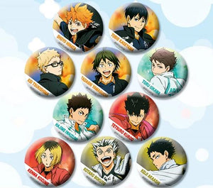 Haikyuu!! Anime Character Buttons / Pins