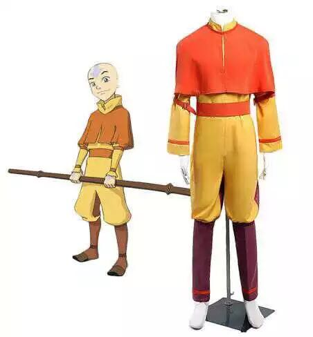 Avatar: The Last Airbender Aang Cosplay Costume
