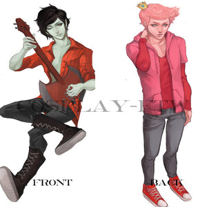 Adventure Time- Marshall Lee and Prince Gumball Dakimakura
