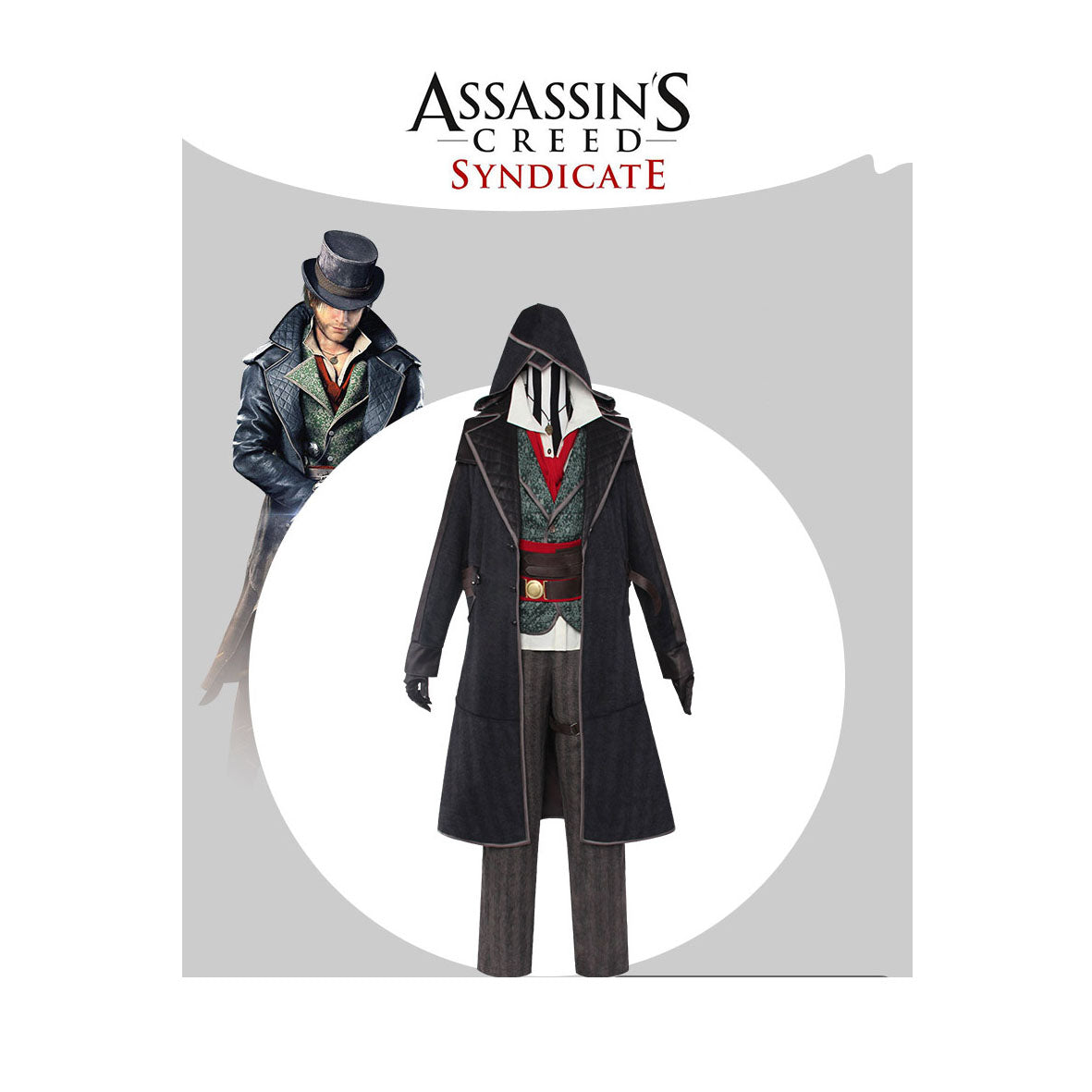 Assassins Creed Syndicate Jacob Frye Cosplay Costume Cosplayftw