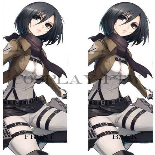 Attack on Titan/ Shingeki No Kyojin- Mikasa Ackerman Dakimakura