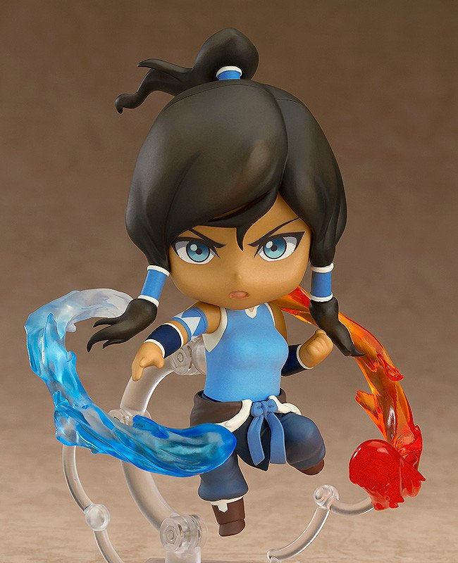 GOOD SMILE Avatar: The Last Airbender 'The Legend Of Korra' Korra Collectible Nendoroid