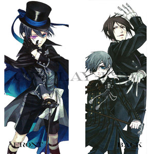 Black Butler / Kuroshitsuji- Ciel Phantomhive and Sebastian Michaelis Pillow
