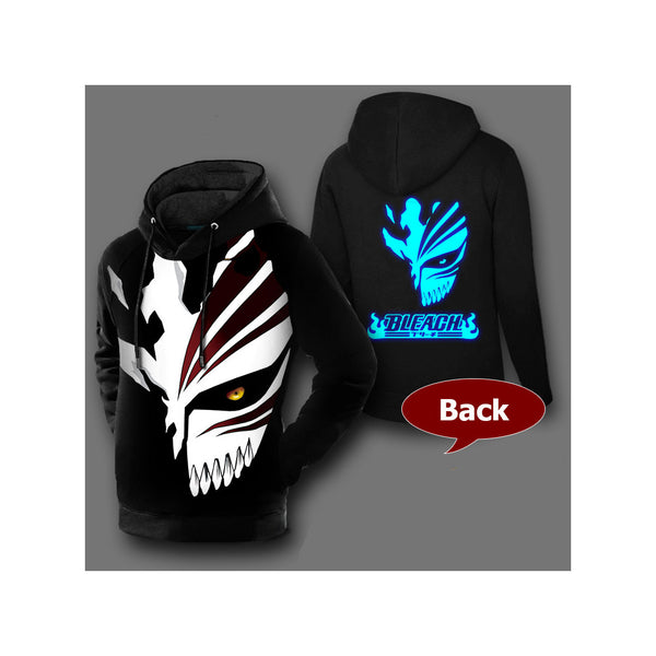 Bleach Pullover Hollow Ichigo Graphic Hoodie
