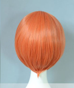 Coral Orange 30cm Cosplay Wig
