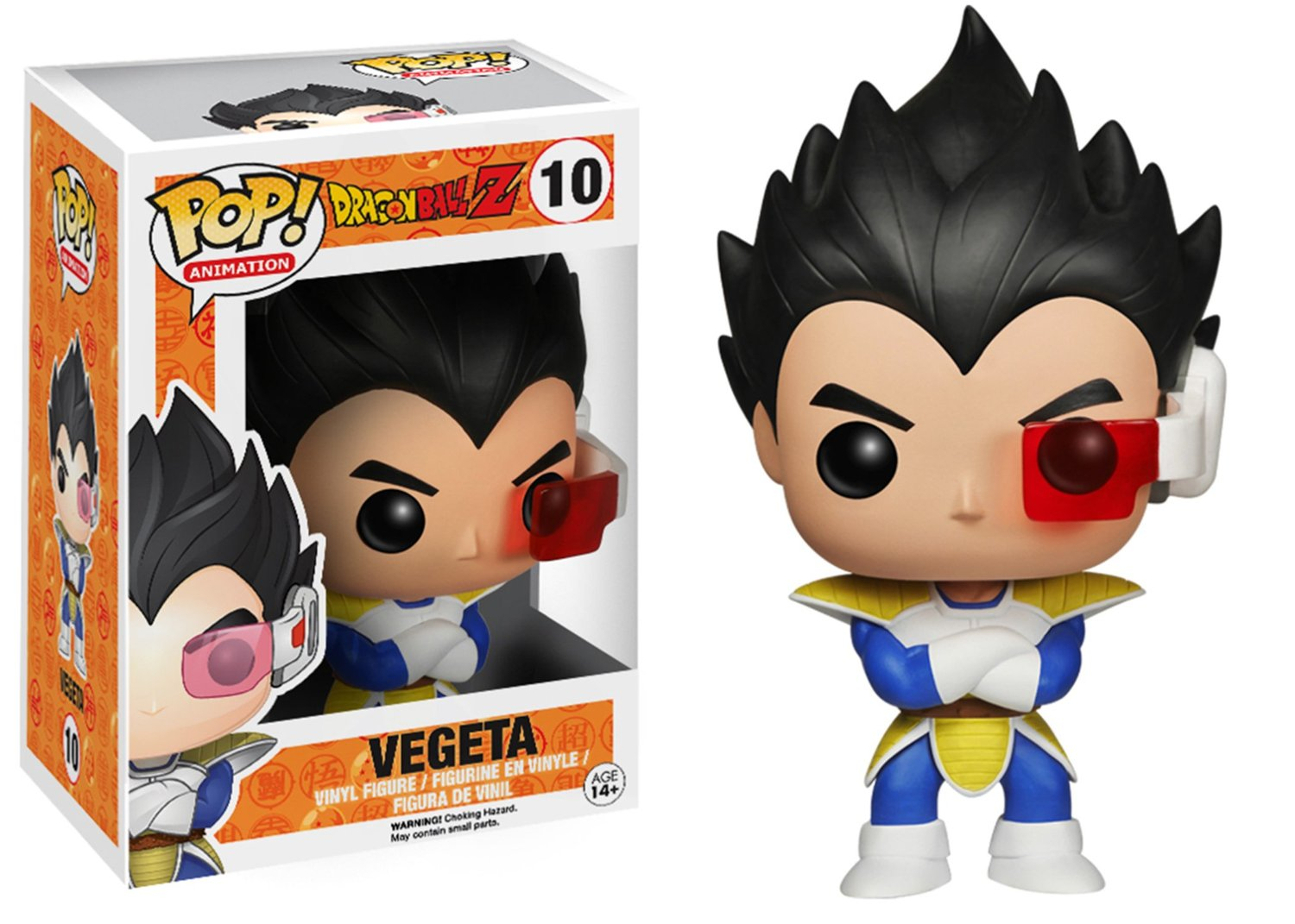 Dragon Ball Z Funko Pop! Vegeta Vinyl Figure