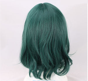 Deep Teal 35cm Bangless Cosplay Wig