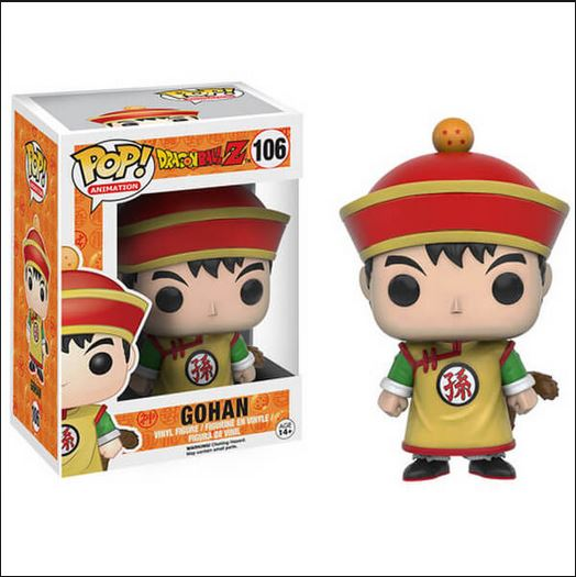 Dragon Ball Z Funko Pop! Gohan Vinyl Figure
