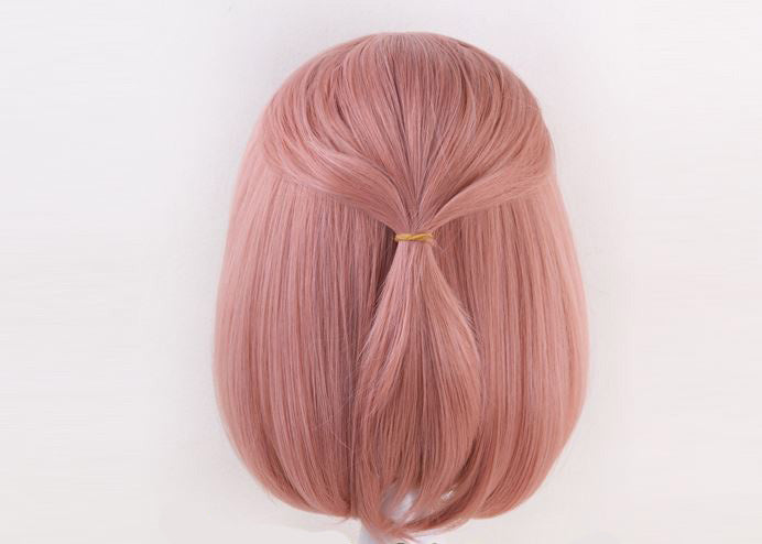 Dusty Rose 35cm Pink Cosplay Wig