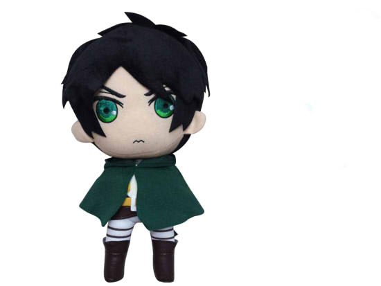 Attack on Titan Eren Jaeger 12 Inch Plush Doll