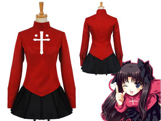 Fate Stay Night Tohsaka Rin Costume