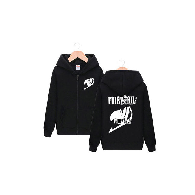 Fairy Tail Black Zip-Up Hoodie