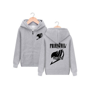 Fairy Tail Gray Zip-Up Hoodie
