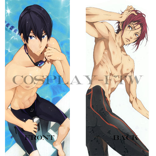 Free! Iwatobi Swim Club- Nanase Haru and Rin pillow