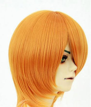 Fruit Orange 35cm Cosplay Wig