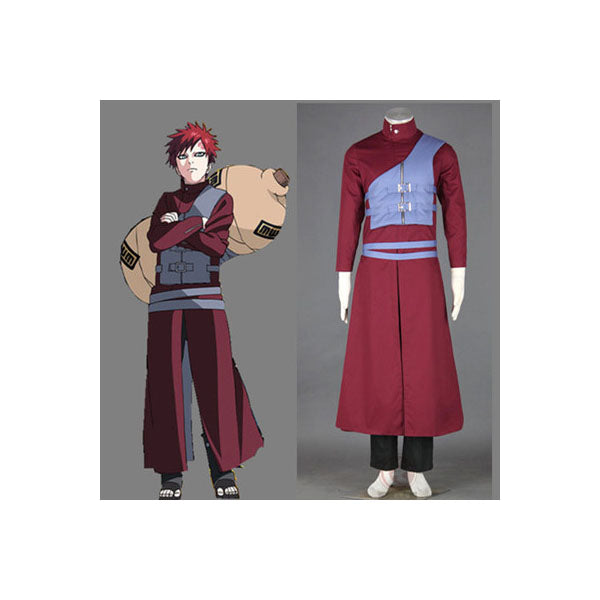 Naruto Shipudden Gaara of the Sand Costume 1