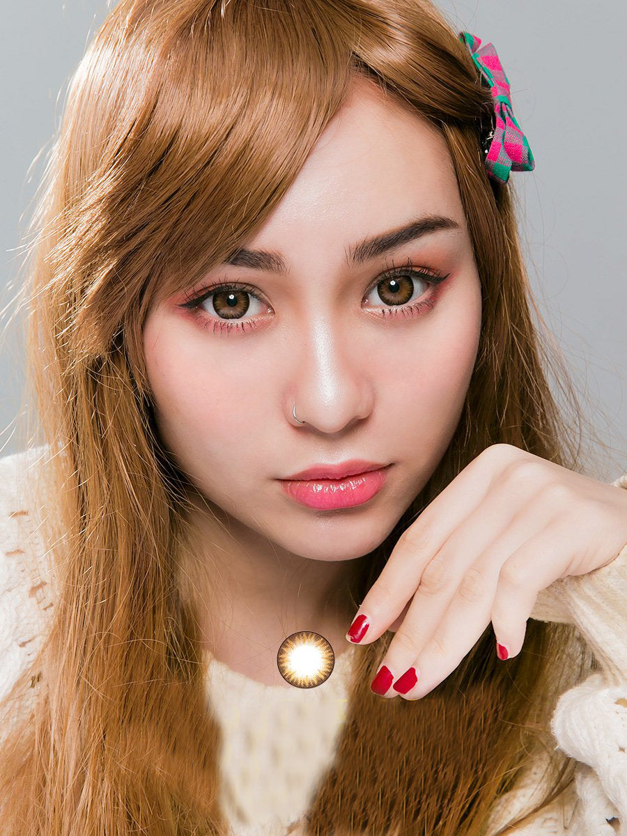 Geo Bella Brown Contact Lenses