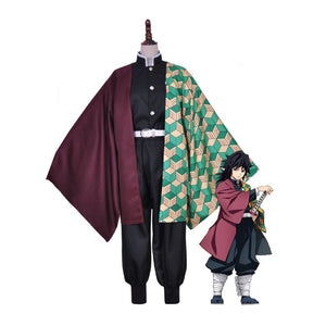 DEMON SLAYER / KIMETSU NO YAIBA Giyu Tomioka Cosplay Costume